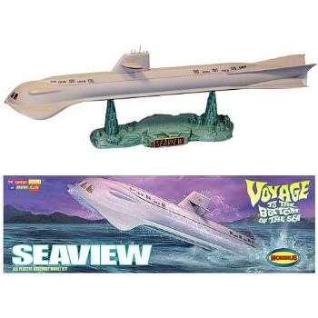 Voyage To The Bottom Of The Sea Seaview 1:350 Scale Model Kit Moebius